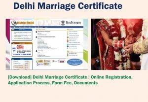 Delhi Marriage Registration