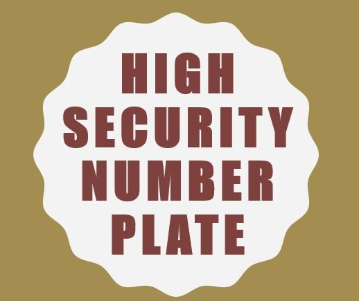 High-Security Registration Plate