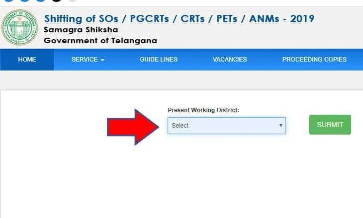 CDSE Telangana Portal