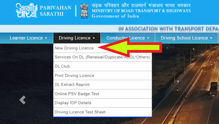 New Learner's Driving License