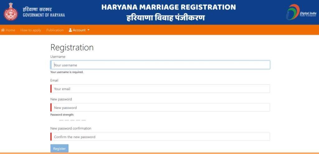 Haryana Marriage Certificate 2021