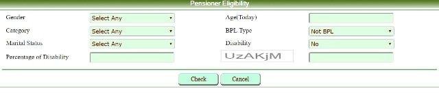 Rajasthan Social Security Pension Scheme