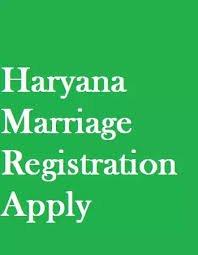 Haryana Marriage Certificate