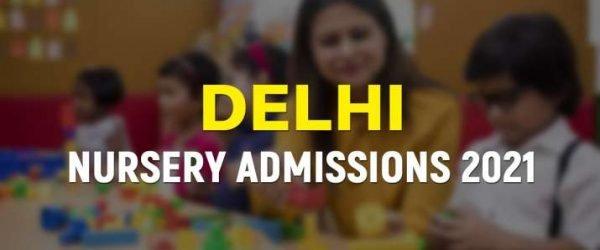 [Online Forms] Delhi Nursery Admission 2021
