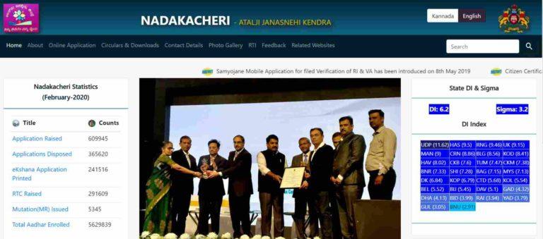 Karnataka Nadakacheri CV 2021