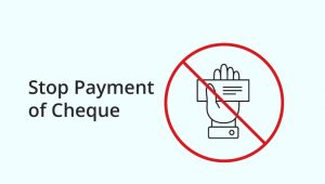 Stop Cheque Payment in Corporation Bank