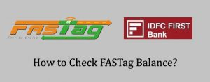 IDFC First Bank FASTag