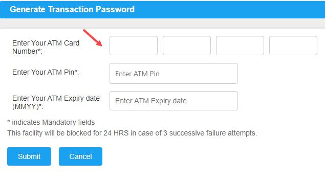 Generate Transaction Password