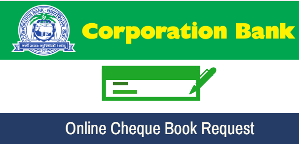 Corporation Bank Request Book Cheque