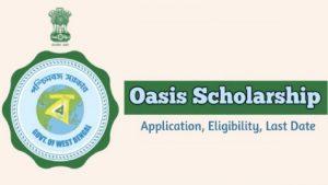 West Bengal Oasis Scholarship Scheme