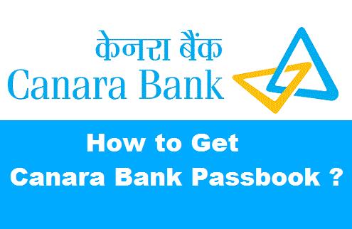 Canara Bank Pass Book