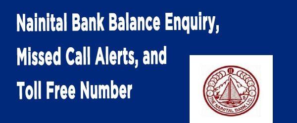Different Ways to Check Nainital Bank Account Balance