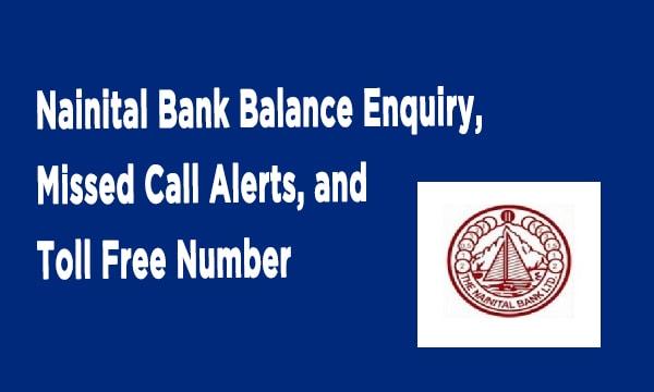 Nainital Bank Account Balance