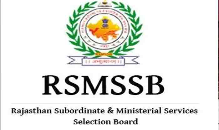 RSMSSB Job 2021