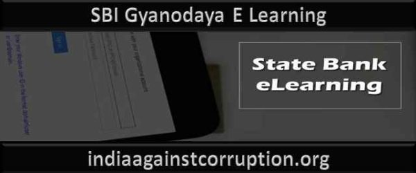 Registration, SBI Gyanodaya E Learning (Login @ mybanklearning.sbi.co.in)