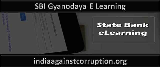SBI Gyanodaya E Learning