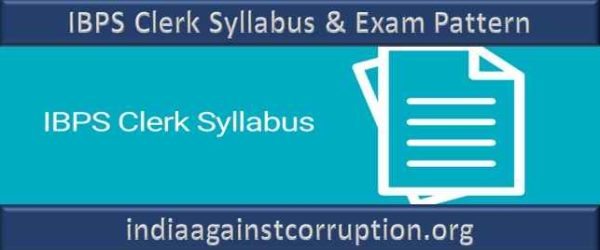 IBPS Clerk Syllabus 2021 (Prelims & Mains) | Download Exam Pattern