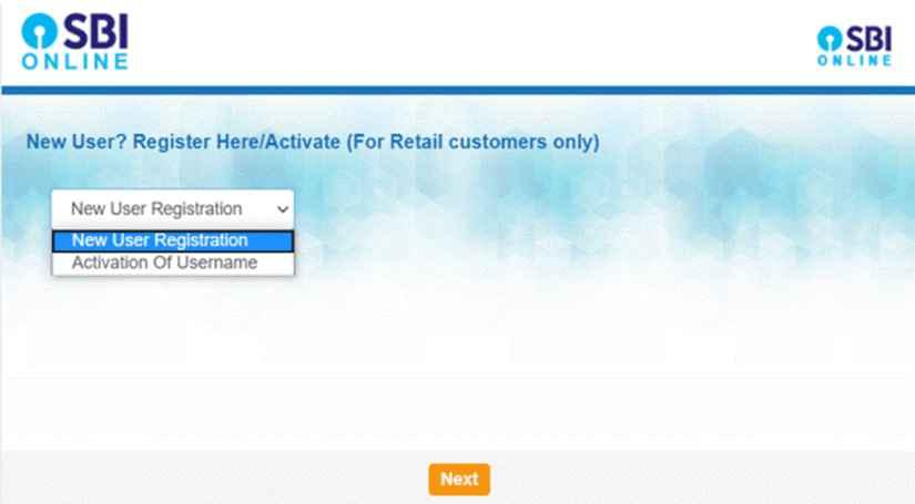 SBI Internet Banking Registration