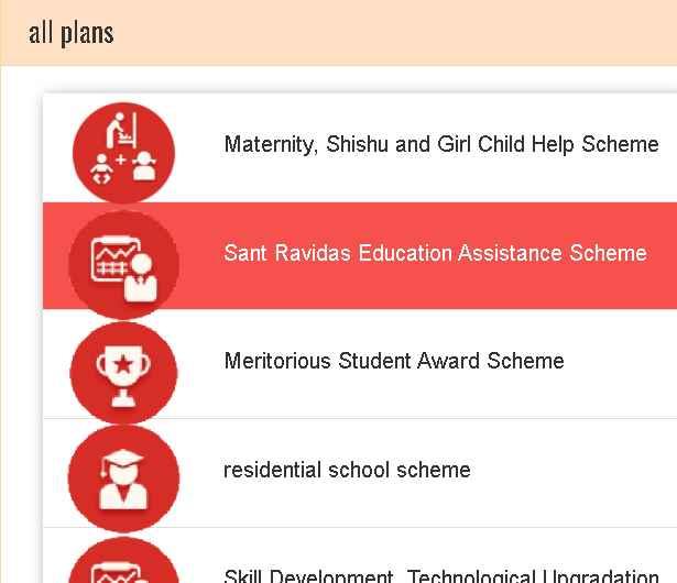 UP Sant Ravidas Education Assistance Scheme